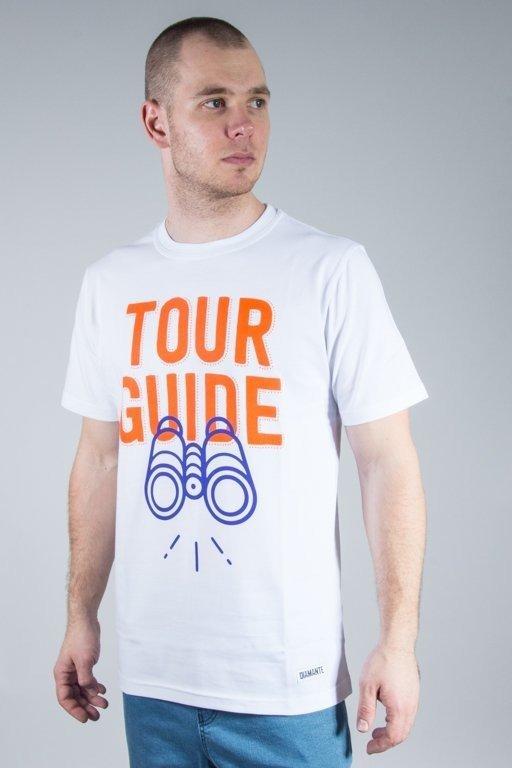 Koszulka Diamante Wear Tour Guide White