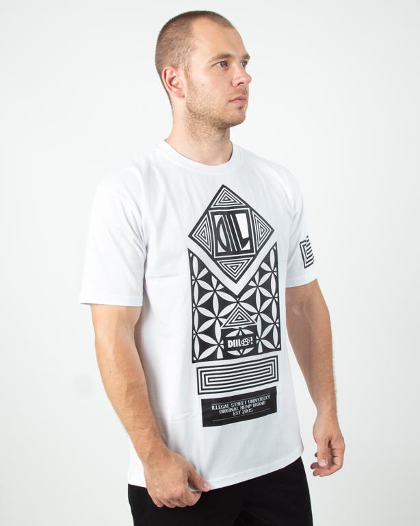 Koszulka Diil Fallen White