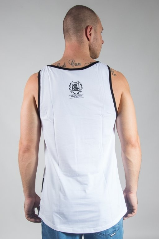 Koszulka Diil Tank Top Tag Master White-Black