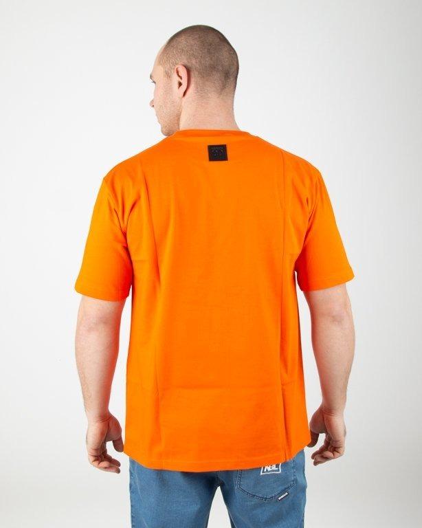 Koszulka El Polako Handmade Orange
