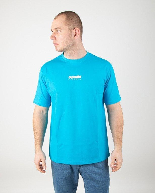 Koszulka El Polako Mini Logo Blue