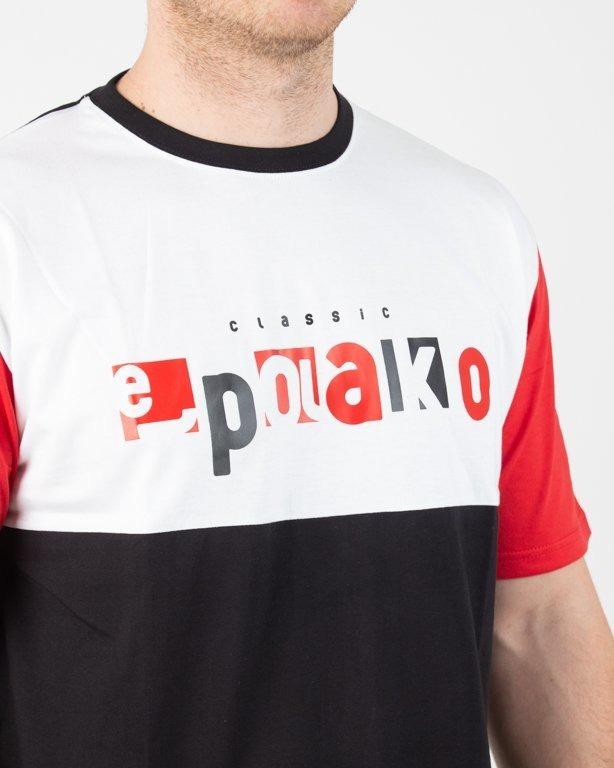 Koszulka El Polako Square Cut Black-Red