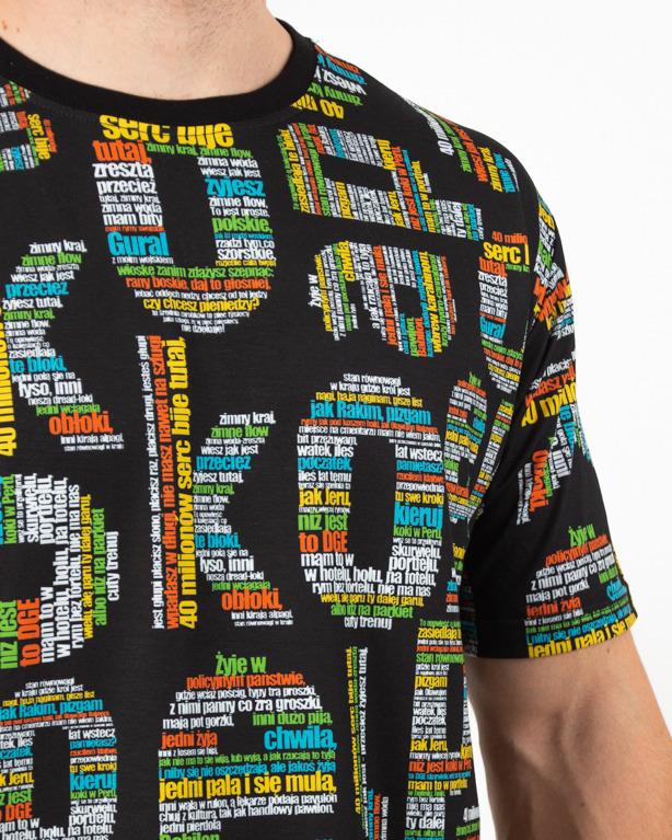 Koszulka El Polako TXT Premium Black