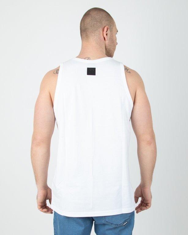 Koszulka El Polako Tank Top Handmade White
