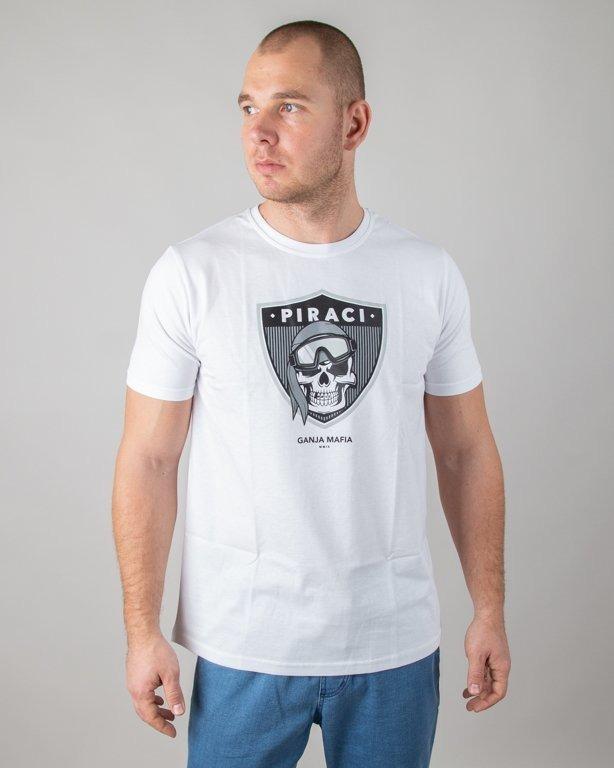 Koszulka Ganja Mafia Piraci White