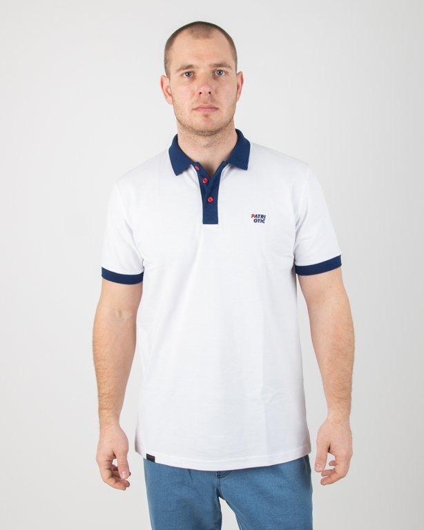 Koszulka Koszulka Patriotic Polo Cls White