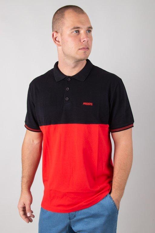 Koszulka Koszulka Prosto Polo Equally Red