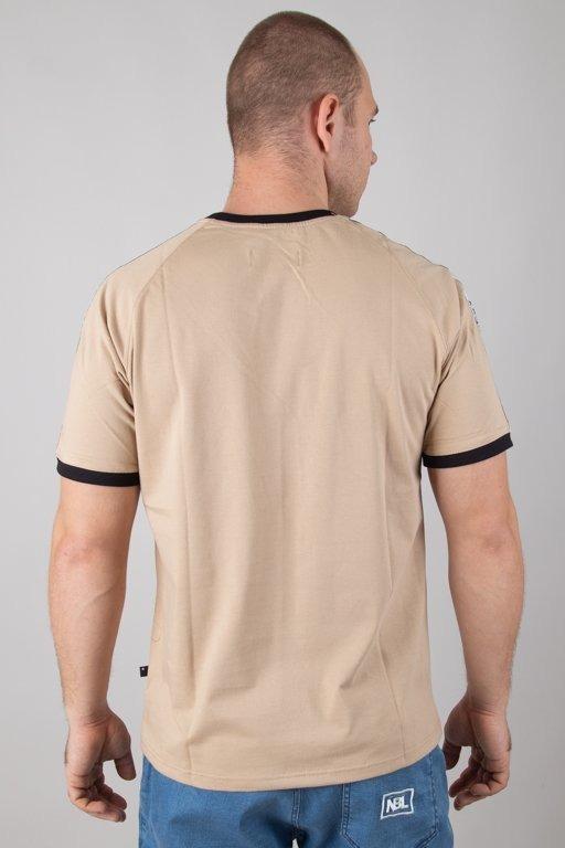 Koszulka Lucky Dice Logo Raglan Tape Beige
