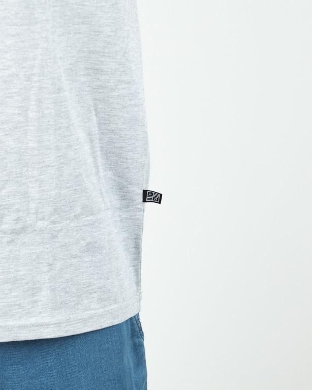 Koszulka Lucky Dice Tape Grey-Red