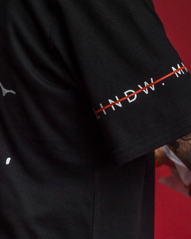 Koszulka Nbl X Blind Wear Ravn Mask Black