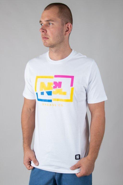 Koszulka New Bad Line Cut Icon White