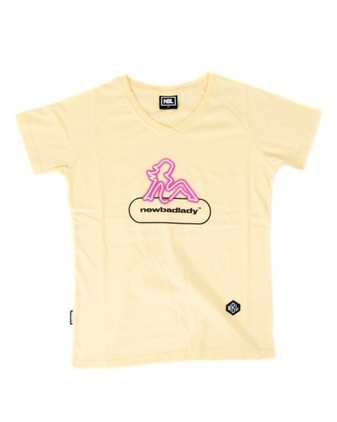 Koszulka New Bad Line Damski Lady Yellow
