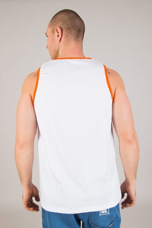 Koszulka Patriotic Tank Top Cls Shade White-Orange