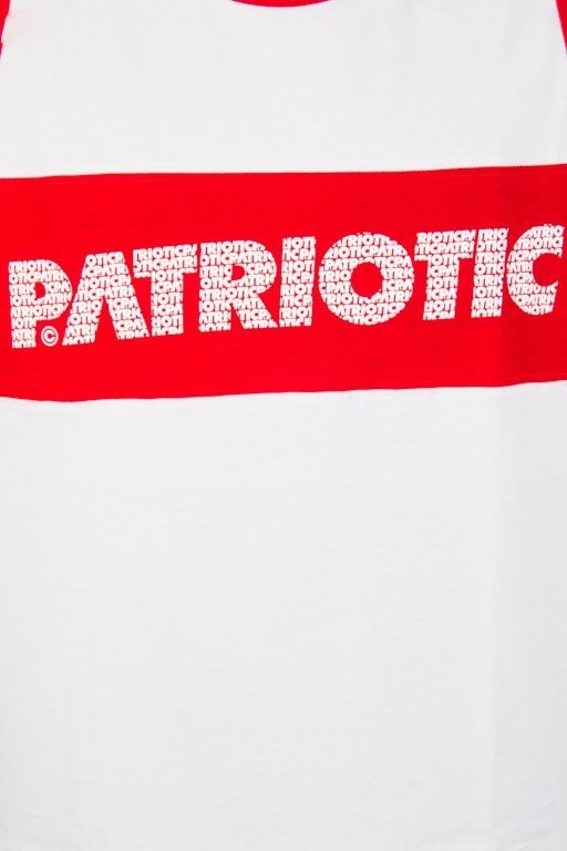 Koszulka Patriotic Tank Top Ff Box White