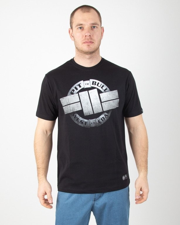 Koszulka Pitbull Steel Logo Black