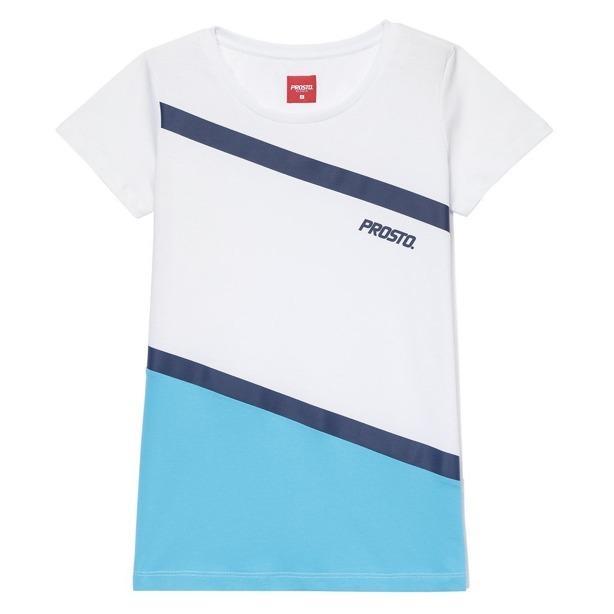 Koszulka Prosto Woman Dripstone White