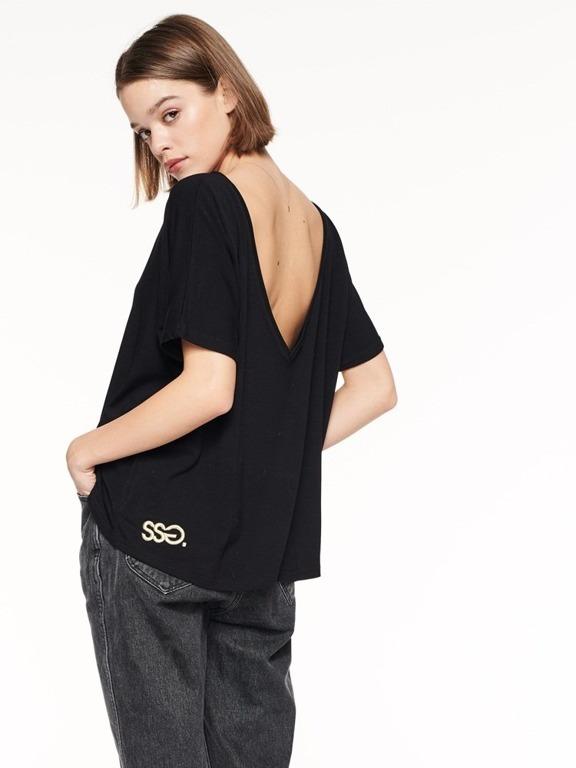 Koszulka SSG Girl Backles Black