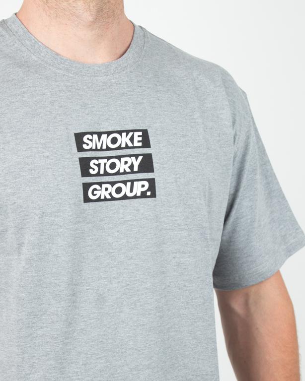 Koszulka Ssg Smg Three Lines Grey