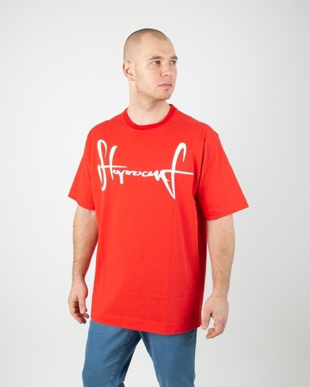 Koszulka Stoprocent Base Tag Red