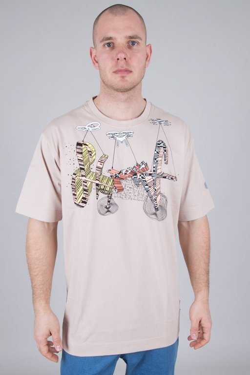 Koszulka Stoprocent Drontag Beige