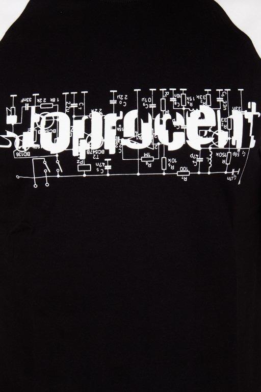Koszulka Stoprocent Electro Black-White