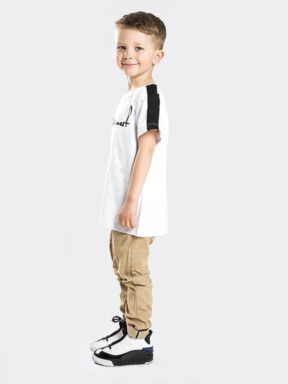 Koszulka Stoprocent Kid Cuttag White
