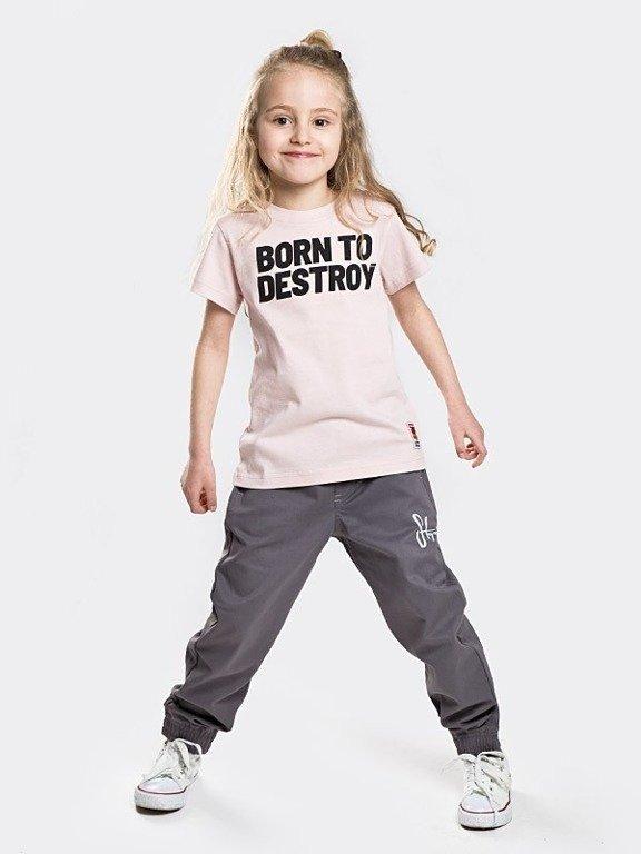 Koszulka Stoprocent Kid Destroy Pastel Pink