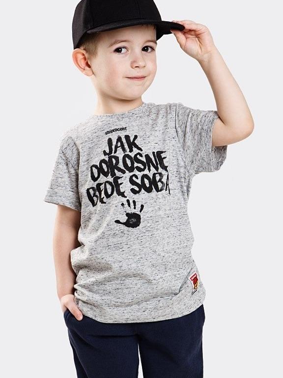 Koszulka Stoprocent Kid Jak Dorosnę Grey