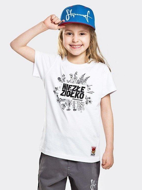 Koszulka Stoprocent Kid Ziółko White