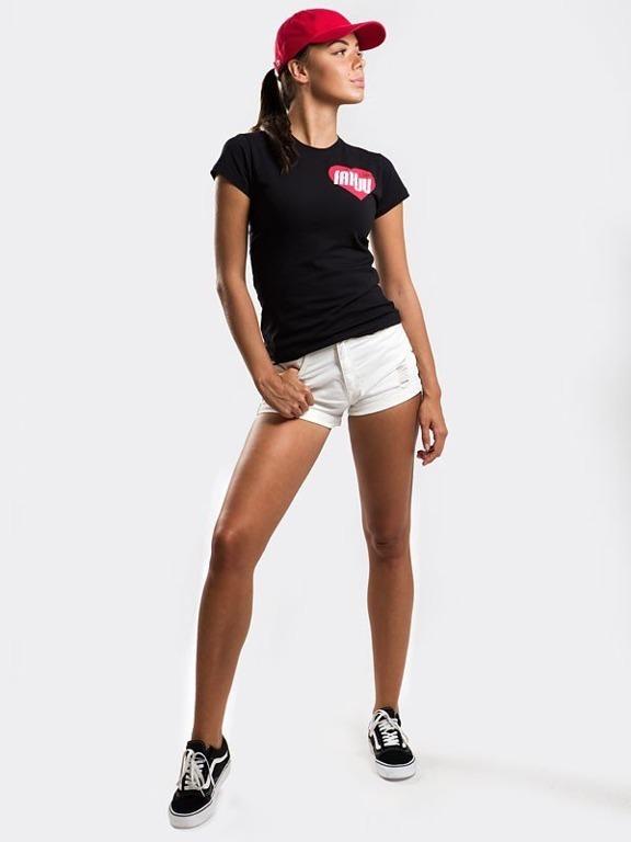 Koszulka Stoprocent Woman Fakju Black