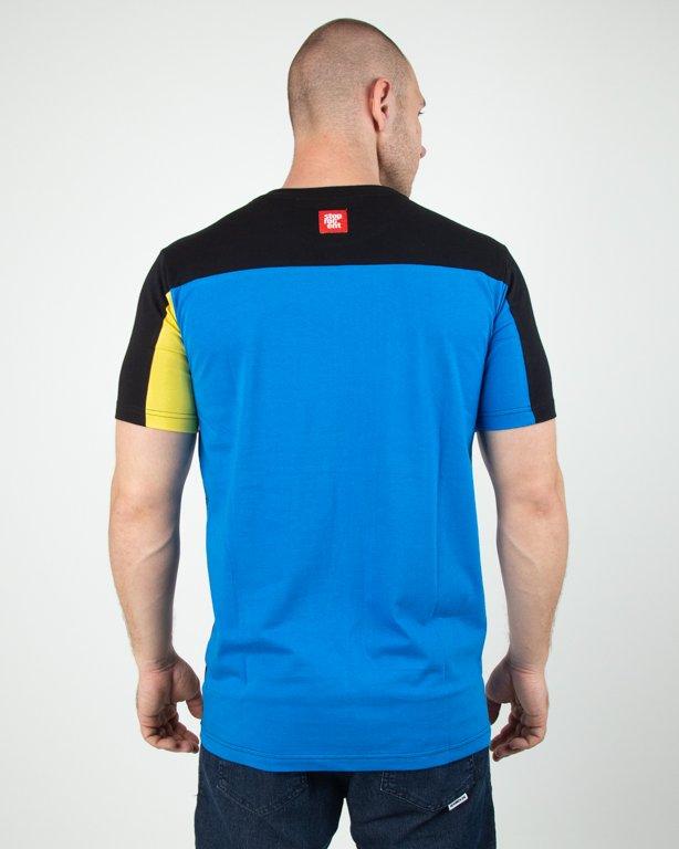 Koszulka Stoprocent Wutag Black-Yellow