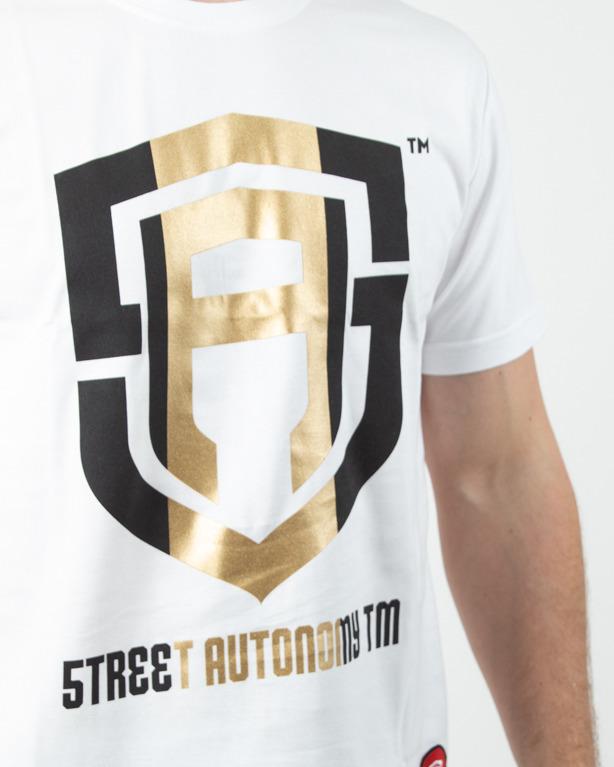 Koszulka Street Autonomy Gold 2019 White