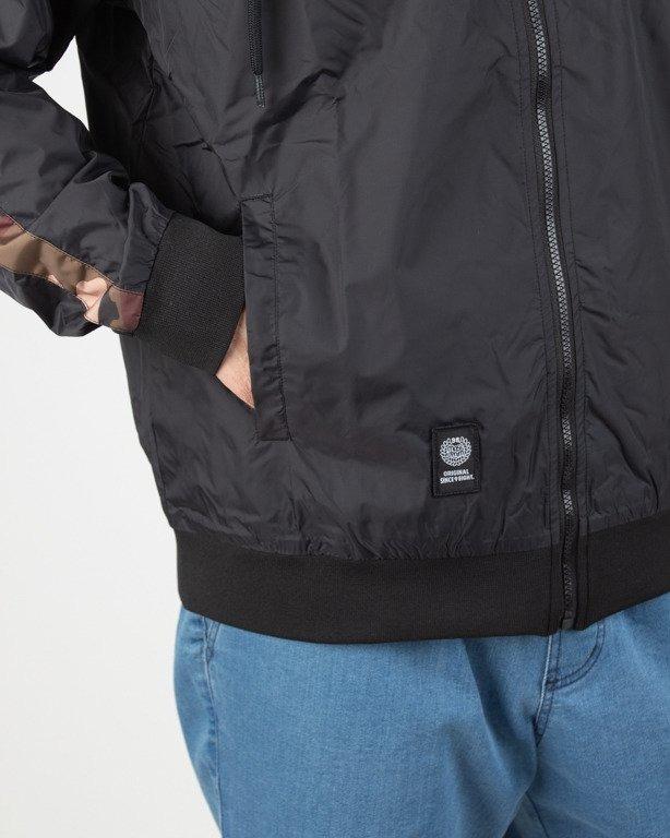 Kurtka Mass Wiatrówka Zip Shelter Black