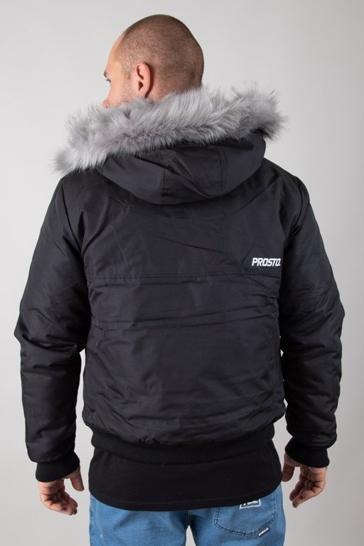 Kurtka Prosto Zimowa Bomber Eskimo Black