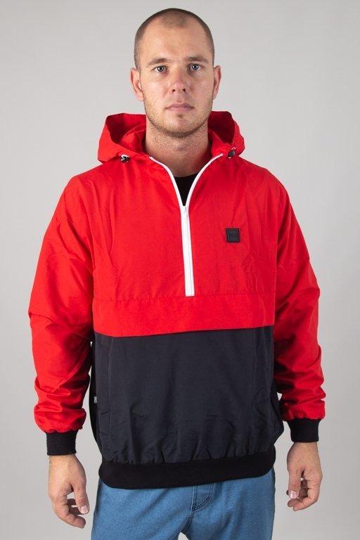 Kurtka SSG Wiatrówka Kangurka Half Colors Red-Black