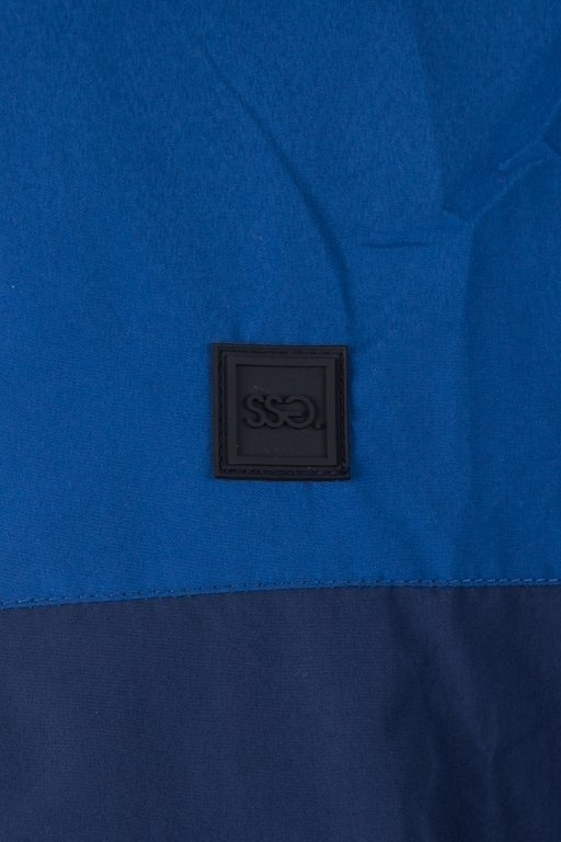 Kurtka SSG Wiatrówka Zip Half Colors Blue-Navy