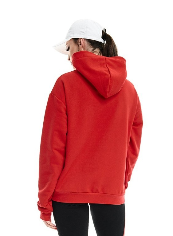 LUCKY DICE HOODIE GIRL LOGO RED