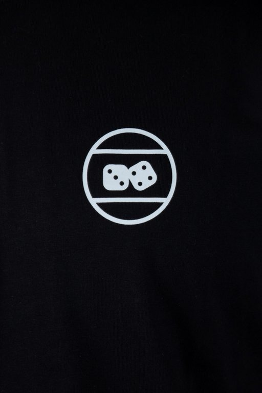 LUCKY DICE T-SHIRT TRIANGLE BLACK