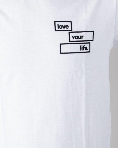 Longsleeve Alkopoligamia Loveyourlife Goodtrip White