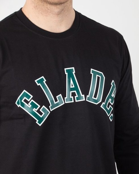 Longsleeve Elade College Black-Green