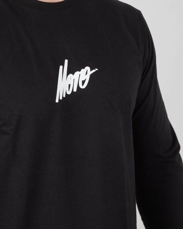 Longsleeve Moro Moro Sport Small Logo Black