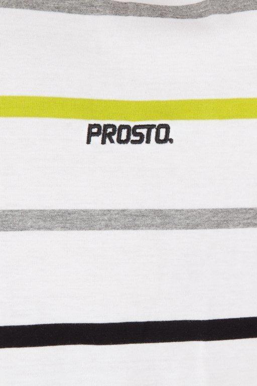 Longsleeve Prosto Ridgy White
