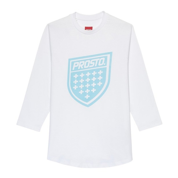 Longsleeve Prosto Woman Iceshield White