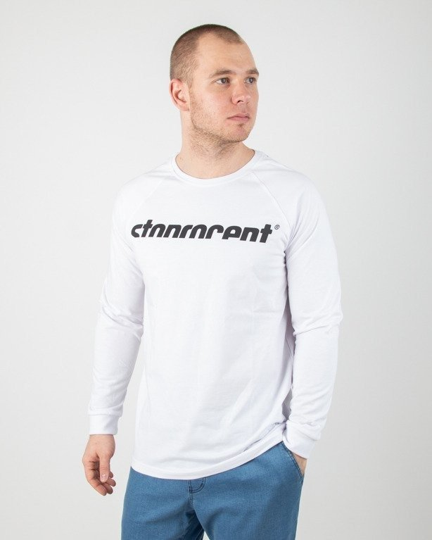Longsleeve Stoprocent Simplecut White