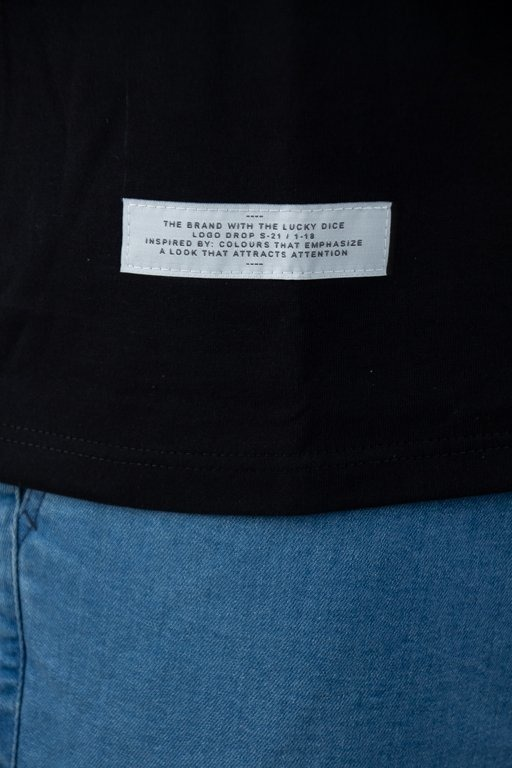 Lucky Dice Koszulka Longsleeve Raglan Tape Black