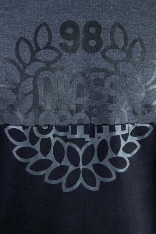 MASS CREWNECK BASE CUT GRAFIT-BLACK