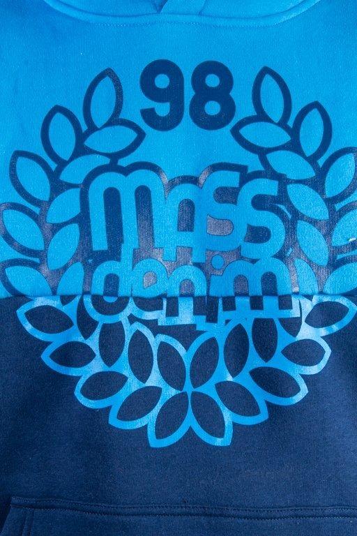 MASS HOODIE BASE CUT BLUE