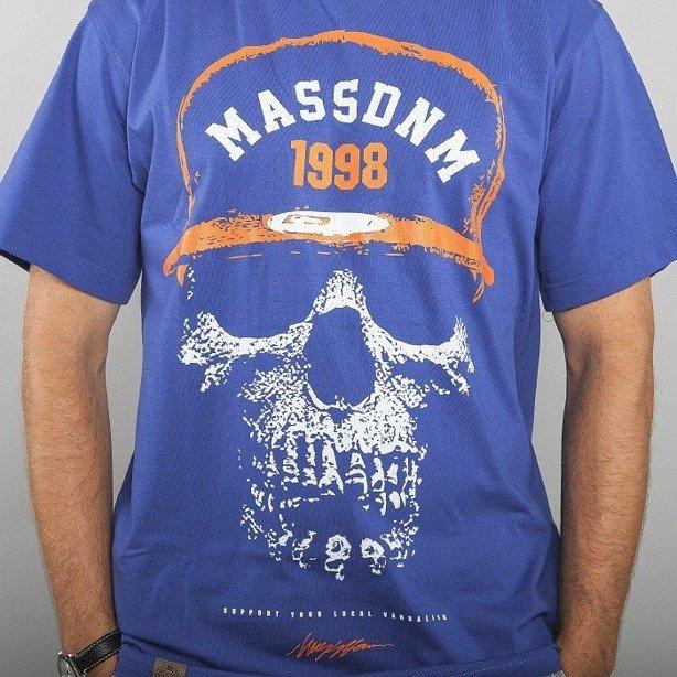 MASS KOSZULKA SKULL BLUE