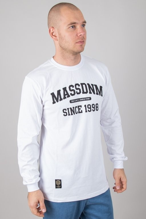 MASS LONGSLEEVE CAMPUS WHITE