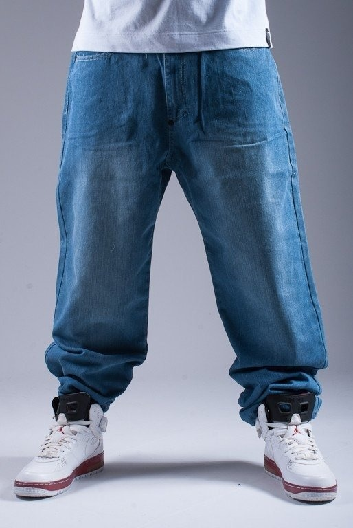MASS SPODNIE JEANS MAMOOTH BLUE
